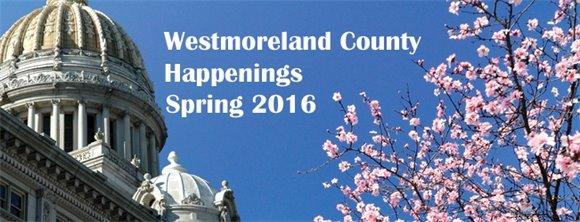 Westmoreland County Happenings e-newsletter banner