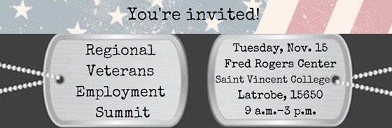 Westmoreland County Regional Veterans Employment Summit