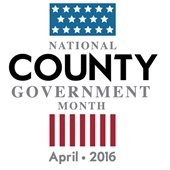 National County Government Month 2016