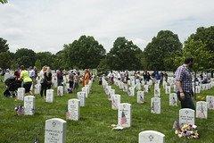 Memorial Day at Arlington Cemetery