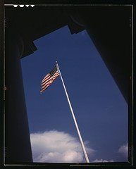 American flag photo from 1942