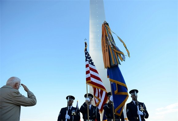 AF Honor Guard presents the Colors