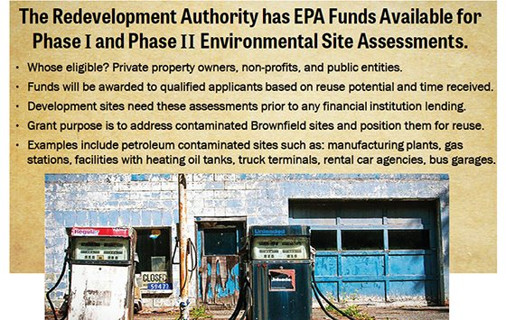 EPA Funds Available for Environmental Site Assessments
