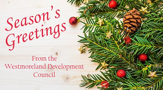 Season's Greetings from the Westmoreland Development Council
