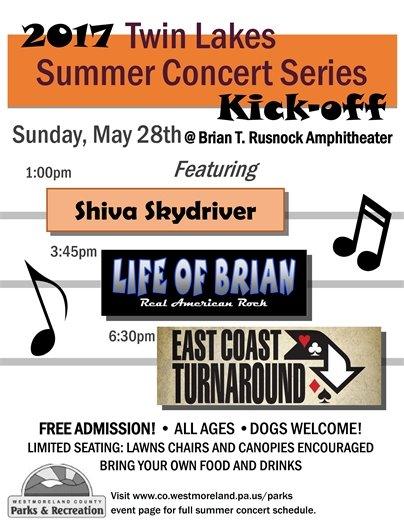 Memorial Day Concert Flyer