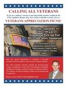 Sept. 14 Veterans' picnic