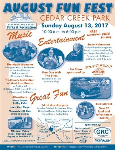 August Fun Fest poster