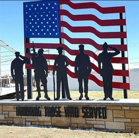 Plainville, KS, Veterans Memorial