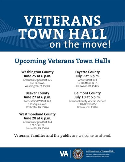 VA Town Hall on the Move June 28
