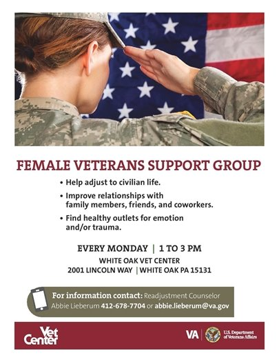 Female Veterans Support Group