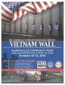 Traveling Vietnam Wall flyer