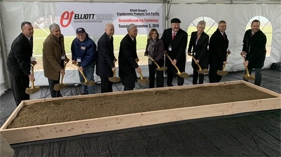 Elliott Group groundbreaking