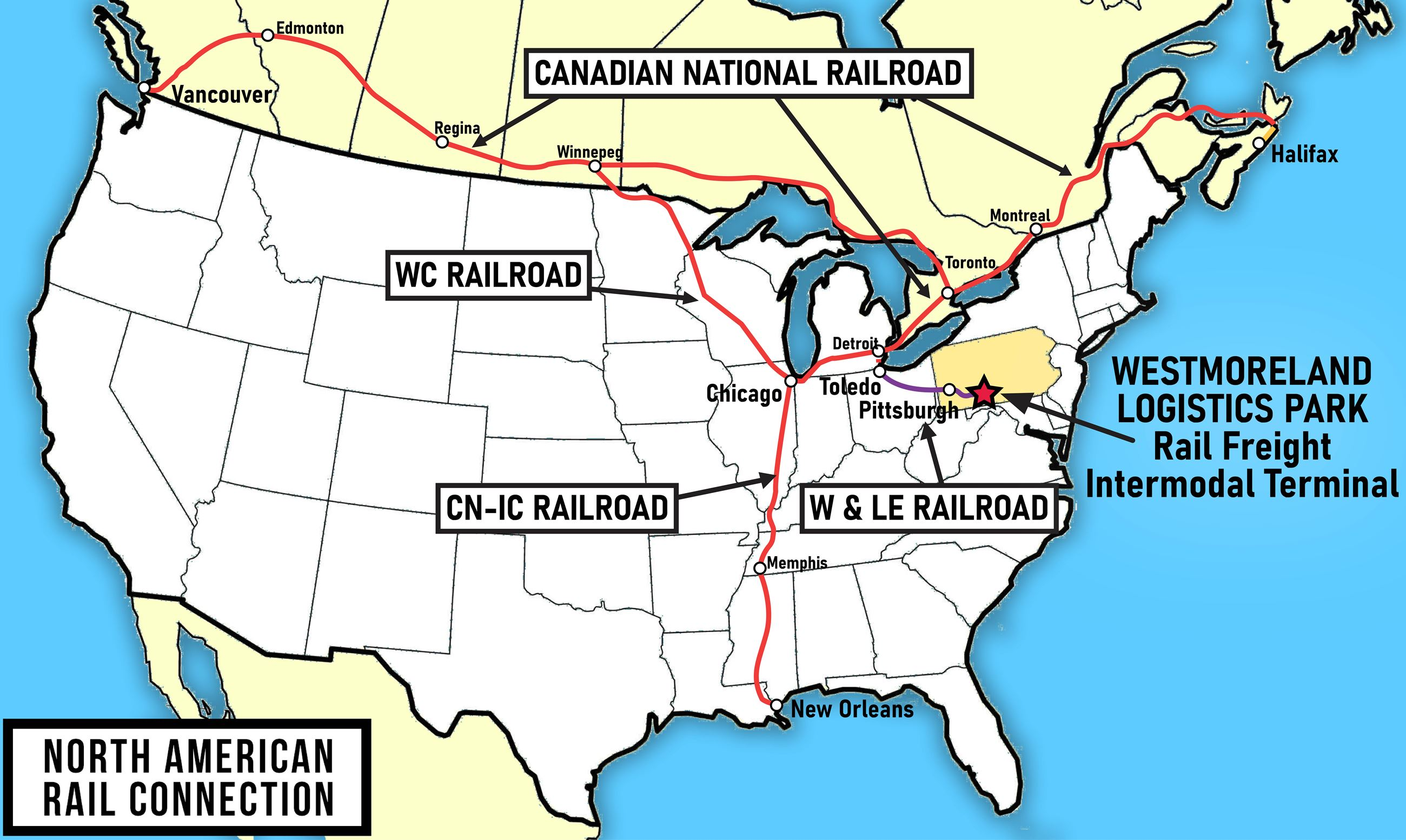 USA Railway Map Map Of American High Speed Rail Network Business - Railway map of us
