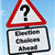 Election choices ahead sign