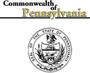 Commonwealth of Pennsylvania seal