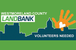 Westmoreland County Logo with Volunteers Needed text