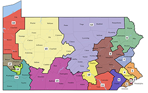 2018 PA Remedial Congressional Map