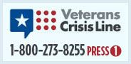 Veterans Crisis Line graphic