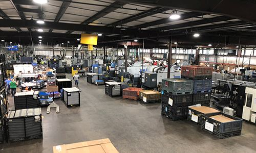 Inside Pace Industries' manufacturing facility