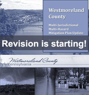Cover sheet from Westmoreland County Hazard Mitigation Plan