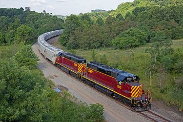 Southwest Pennsylvania Railroad at New Stanton