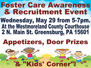 Foster Care Event Wednesday May 29