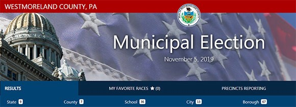 Election Results | Westmoreland County, PA - Official Website