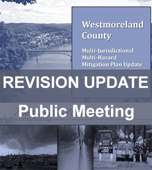 Cover of HMP plan with words Revision Update, Public Meeting