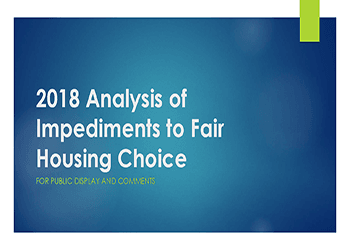 Analysis of Impediments to Fair Housing Choice