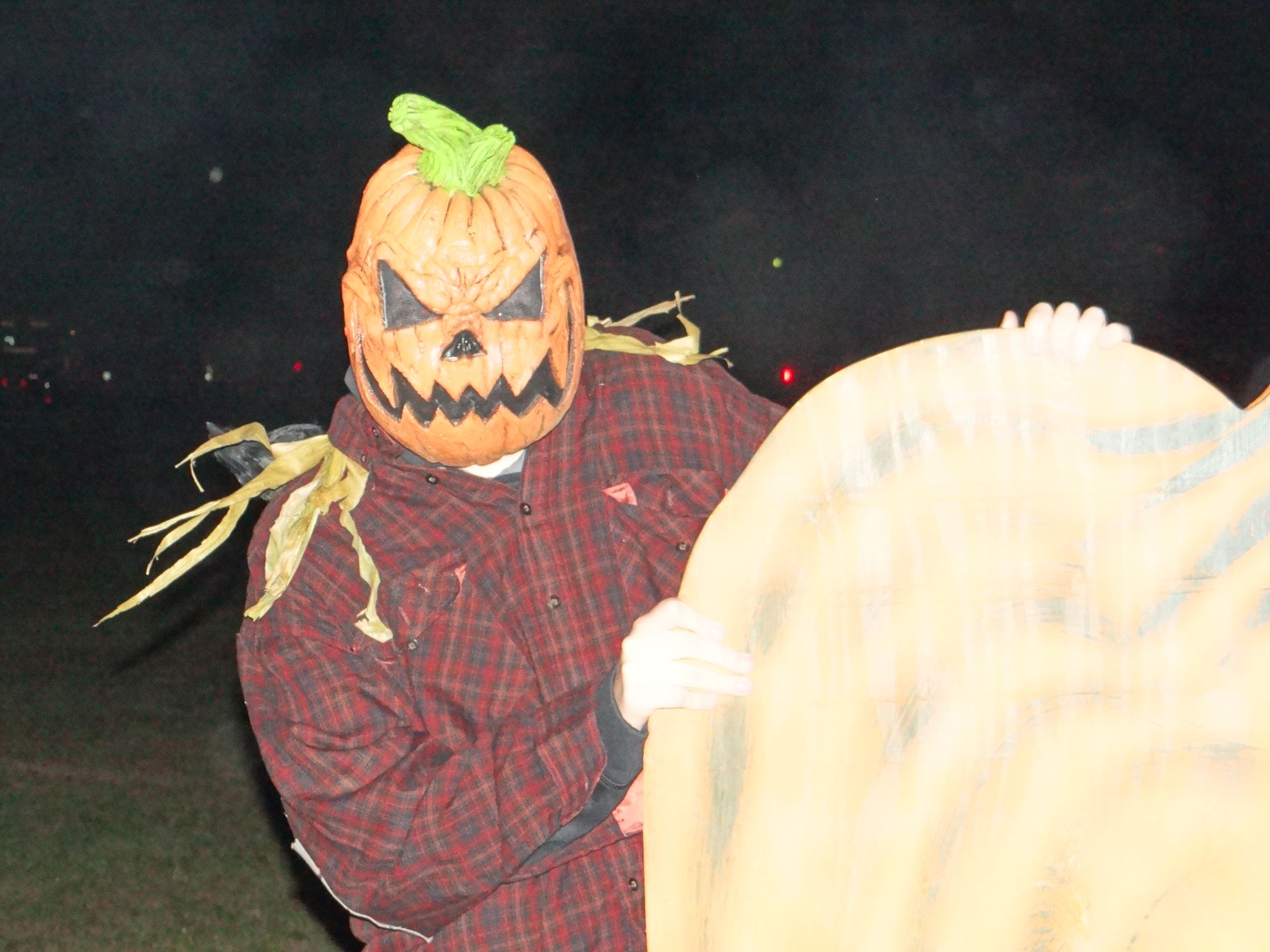 Pumpkin Man at Hobgoblin Hike