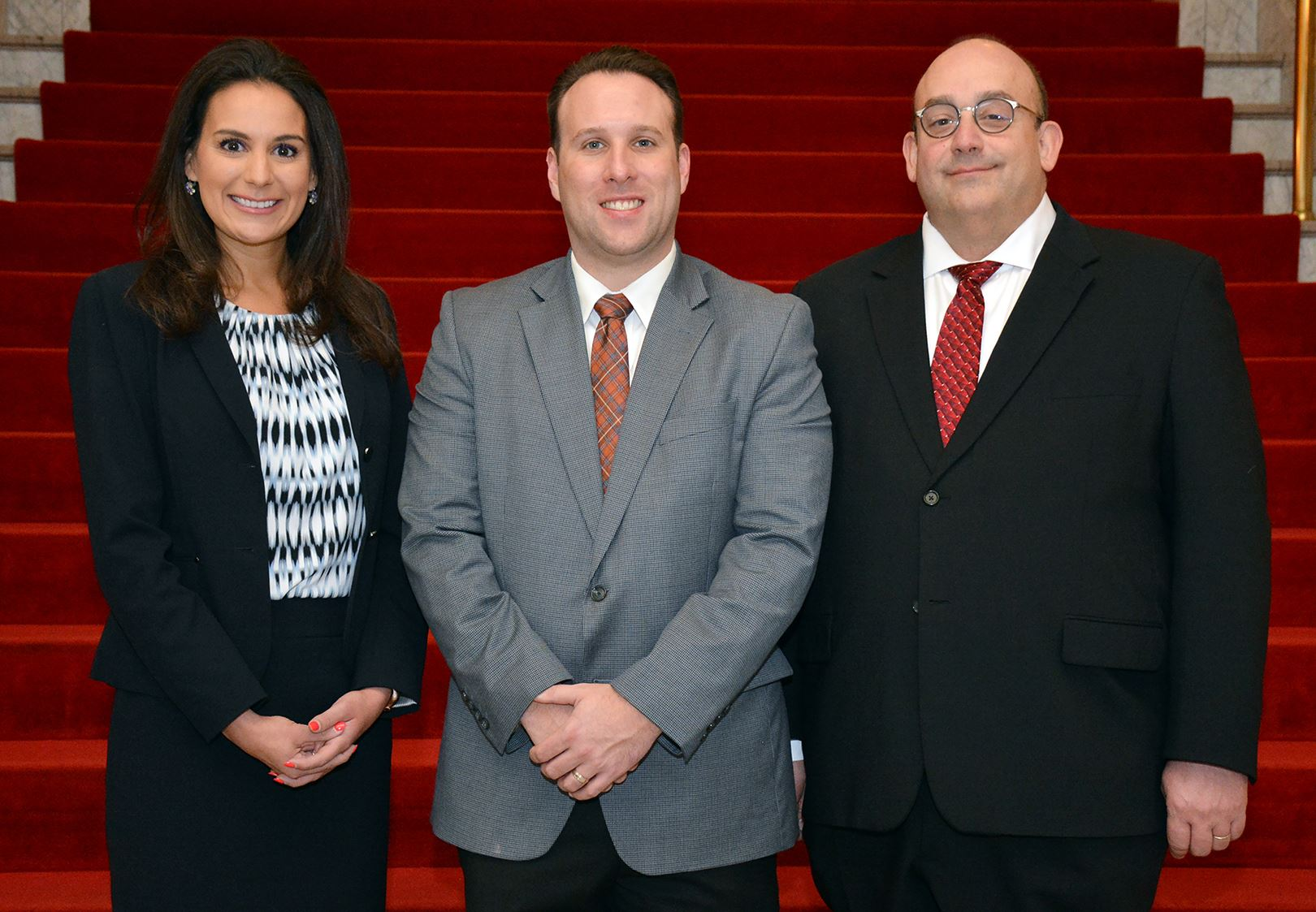 Secretary Gina Cerilli, Chairperson Sean Kertes and Vice Chairperson Douglas Chew