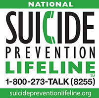 National Suicide Lifeline 1-800-273-8255