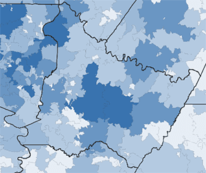 PA Department of Health COVID-19 ZIPCODE data