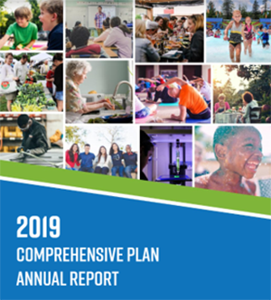 Cover page of Comprehensive Plan 2019 Annual Report