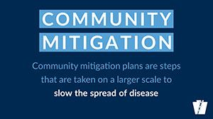 Community Mitigation PA Dept of Health