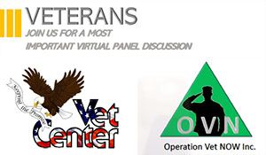 Virtual Panel Discussion provided by Vets Center and Operation Vet Now, Inc