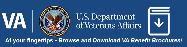 US VA logo with download icon