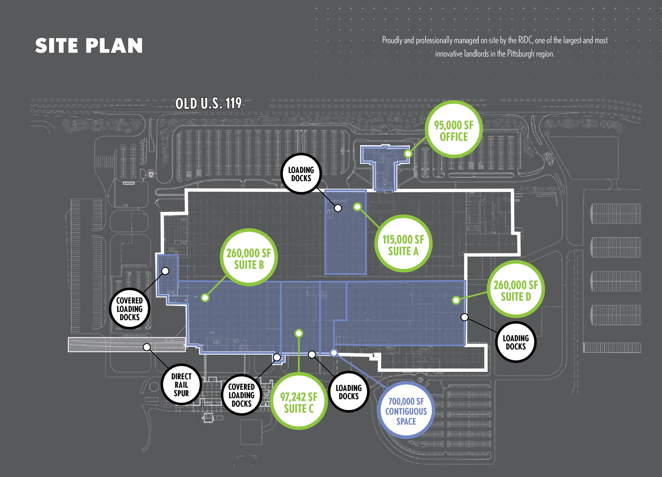 Westmoreland Innovation Center floorplan