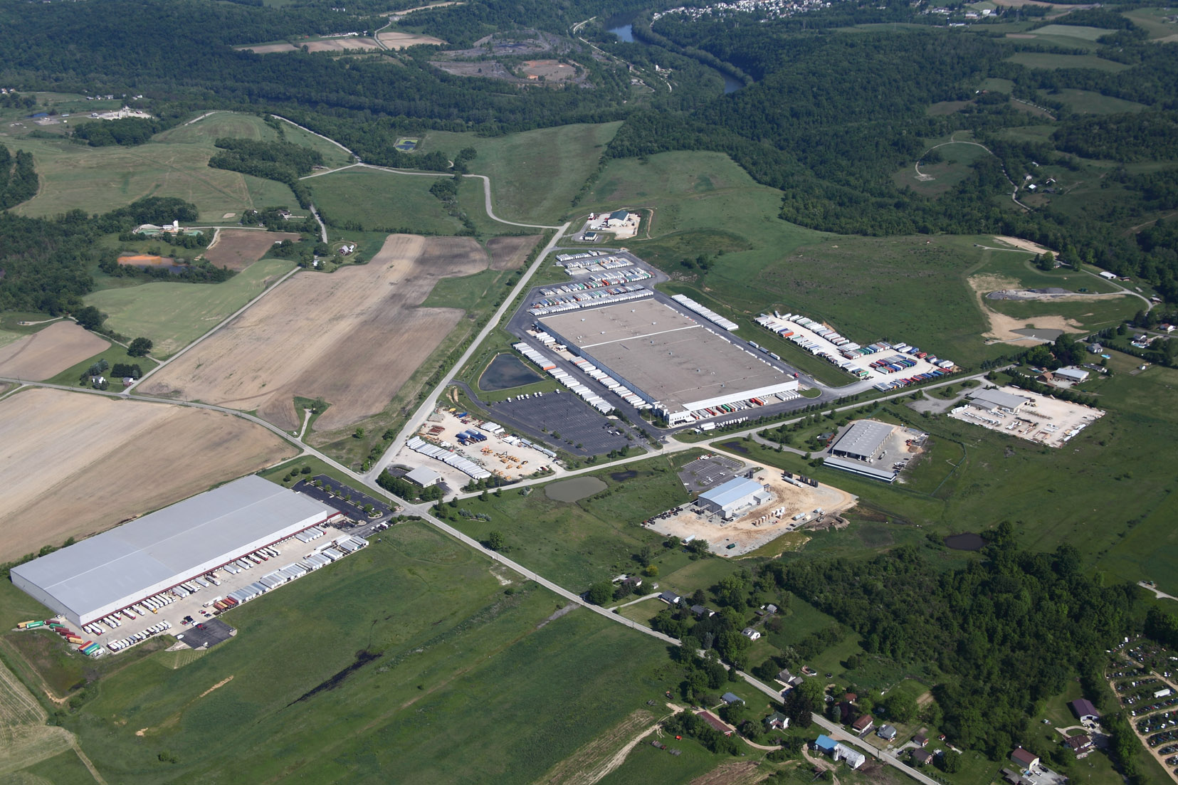 2007 Aerial I-70 Industrial Park
