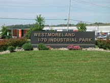 Entrance Sign I-70 Industrial Park