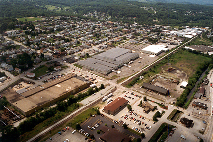 2001 Aerial South Greensburg Commons