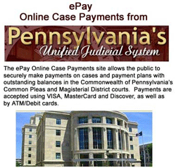 PA Unified Judicial System