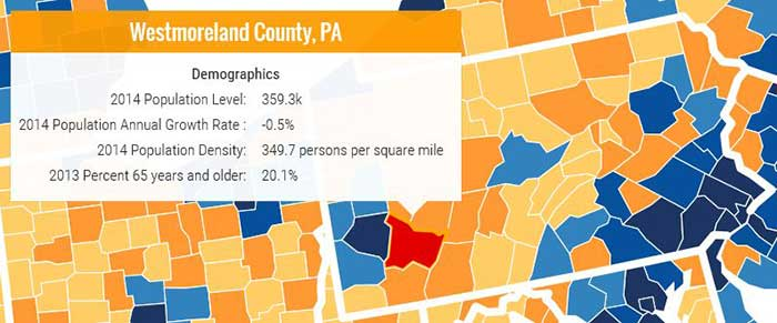 County Explorer - Interactive Map | Westmoreland County, PA ...