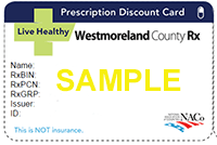 Sample Rx Discount Card