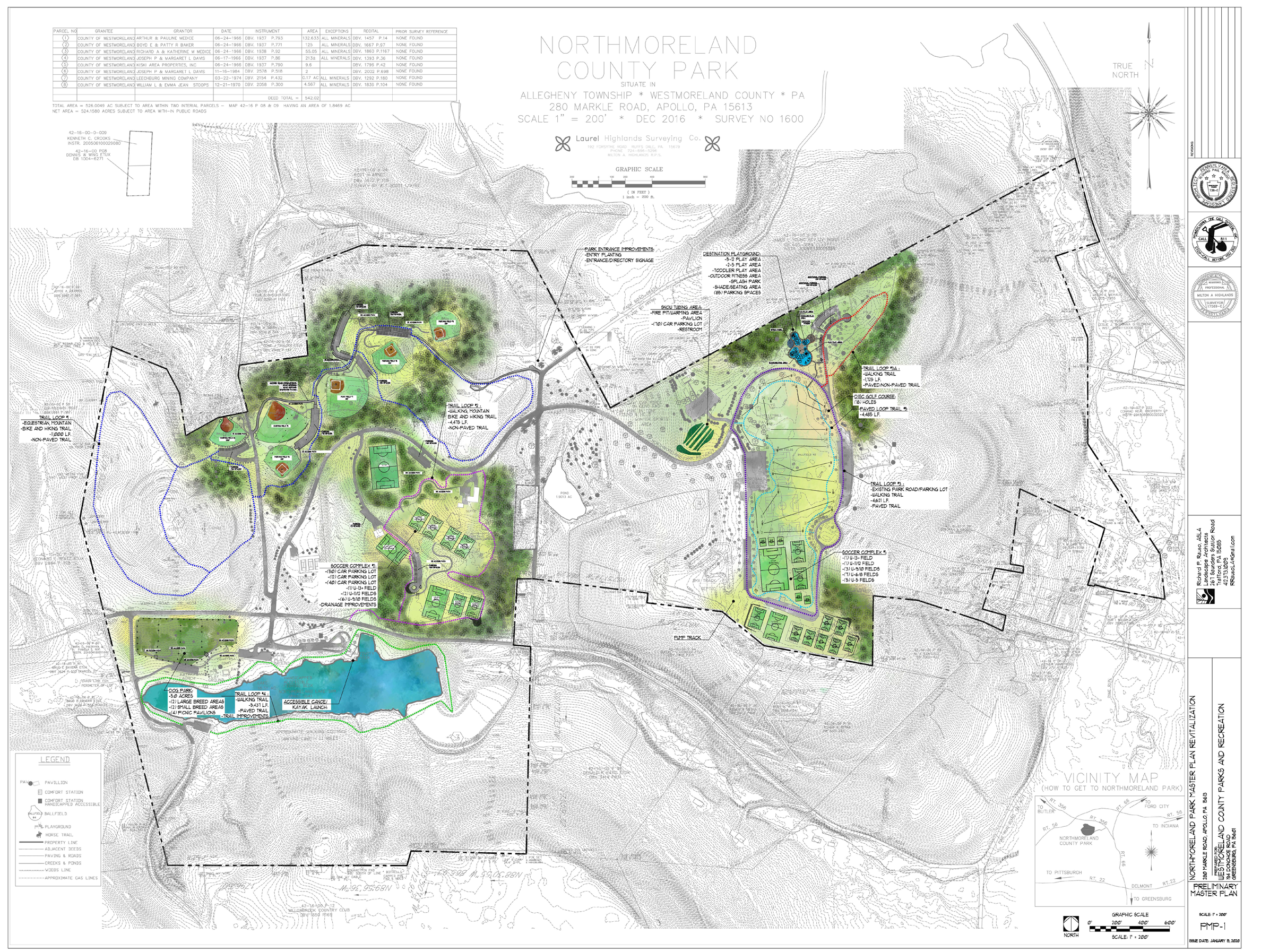 Northmoreland Master Plan overview 2-2020