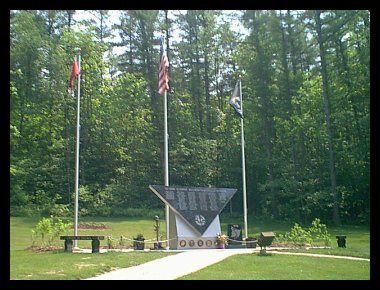 Vietman Veteran's Memorial at Twin Lakes Park