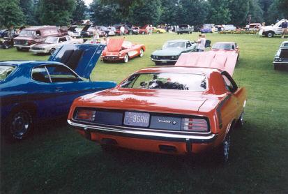 Cedar Creek Park Car Show