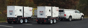 PEMA Generators enroute to Westmoreland County