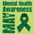 Mental Health Awareness Month Ribbon