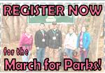 Register for the March for Parks!